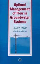 Optimal Management of Flow in Groundwater Systems-ExLibrary