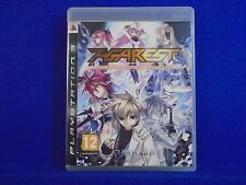 ps3 AGAREST Generations Of War An Epic RPG Adventure Game Playstation PAL