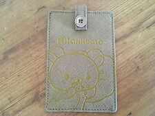 San-X Rilakkuma Slim Credit Card Holder Id wallet Card Case Holder New!