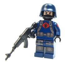 Lego GI Joe Custom - - COBRA FOOTSOLDIER - - storm shadow Ninja snake eyes army