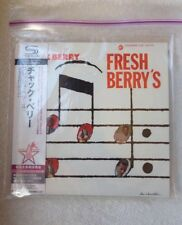 CHUCK BERRY Fresh Berry's JAPAN SHM MINI LP CD NEW OUT OF PRINT UICY-94633