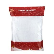 Snow Blanket Glitter Christmas Decoration Artificial Fake Snow Roll 70cm x 50cm