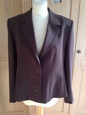 LOVELY MARKS & SPENCER BROWN JACKET UK SIZE 18 BNWT RRP £64