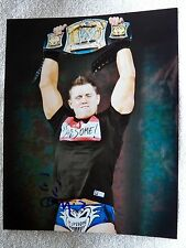 WWE Superstar The Miz Signed 8x10 Photo Auto AKA Mike Mizanin