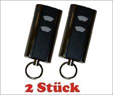 2x Normstahl Handsender Micro 2-Kanal 433 Mhz+Ring NEU