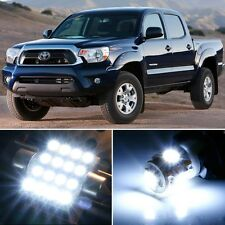 9 x Premium Xenon White LED Lights Interior Package Kit for Toyota Tacoma