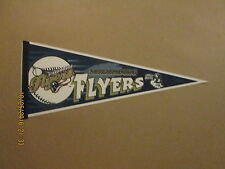 Northern League Schaumburg Flyers Vintage CHILLY WILLEE Sponsored Logo Pennant