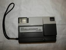 Vintage Tele Challenger Disc camera Kodak built in flash retro 1980s cool