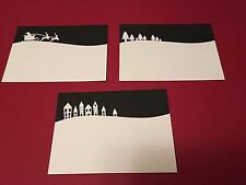 Various Landscape die cuts Including Christmas design **FREE UK POSTAGE**