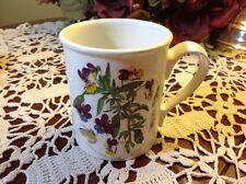 """PORTMEIRION Botanic Garden Heartsease 3 5/8"""" Breakfast Mug"""