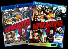 DC Comics Superman/Batman Apocalypse (2-Disc Blu-ray/DVD) with OOP Slipcover!