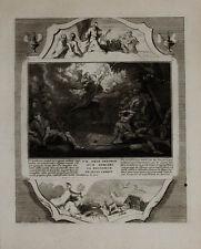 1728 Kupfer Biblia Geburt Jesu Weihnachten Christmas Birth of Christ Nativity