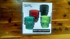 Cucina Vita Skull Shot Glass Set