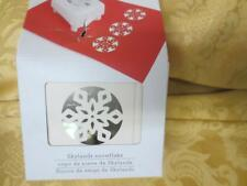 NIP Martha Stewart Punch All Over the Page Skylands Snowflake Christmas