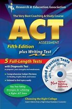 ACT Assessment 5th. Ed. w/CD-ROM (REA) - The Best Test Prep for the ACT