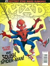 2002 Mad Magazine #418 (June): We Squish Spider-Man/21 Star Wars Rumors