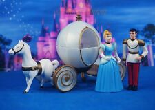 Cinderella Prince Charming Carriage Little Glass Slipper Cake Topper Figure KLMR