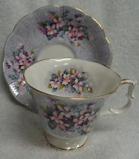 Royal Albert Festival Series Apollo Floral Pink Cup and Saucer
