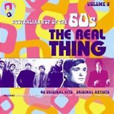 AUSTRALIAN POP OF THE 60s VOLUME 3 REAL THING VARIOUS ARTISTS 2 CD NEW