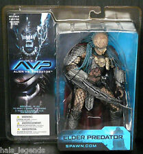 "Alien vs Predator ELDER PREDATOR New! Rare! 8"" Figure McFarlane spawn.com"