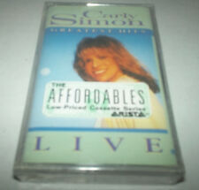 Greatest Hits Live by Carly Simon (Cassette, Arista Records) - SEALED