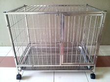 Stainless Steel Pet Cage (Free Postage)