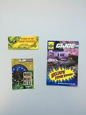 Original Vintage GI Joe Mail In Offers