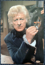 DOCTOR WHO POSTER . JON PERTWEE - INVASION OF THE DINOSAURS