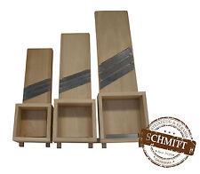 Krauthobel, Krautschneider, Außenprofil Schlitten, 66x20 cm 3 Klingen+Stampfer!