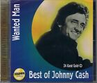 Cash, Johnny Wanted Man (Best of) Zounds 24 Carat Gold CD New Sealed