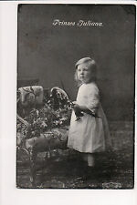 Vintage Postcard Queen Juliana of the Netherlands as a Young Child
