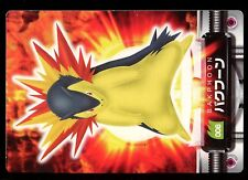 PROMO POKEMON POCKET MONSTERS DATA N° 006 TYPHLOSION