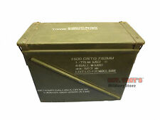 USGI 20mm AMMO CAN M548 1500 ROUNDS 7.62 METAL AMMO CAN EXCELLENT CONDITION