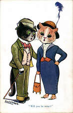 Louis Wain Cats. Will You Be Mine? by E.J.Hey & Co. in Series 423.