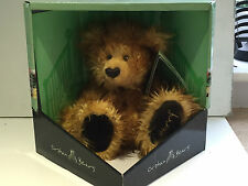 COLLECTIBLE TEDDY BEAR HARRY ORPHAN BEAR RARE JOINTED SITTING 2003 NEW