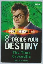 Doctor Who Decide Your Destiny 3 The Time Crocodile BBC 2007 1st Paperback Good