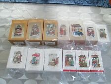 Complete Set of 13  Hallmark Christmas Windows 2003 - 2015 Ornaments Rare Stores