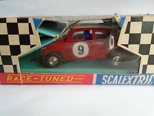 Austin Mini Cooper MM C/7 Tri-ang Scalextric Race Tuned