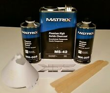 Matrix System MS-42 Gallon Clear Coat Kit YOU CHOOSE Hardeners!  HIGH SOLIDS