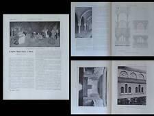 CONSTRUCTION MODERNE n°26 1926 EGLISE SAINT LEON PARIS, BRUNET, HAUBOLD
