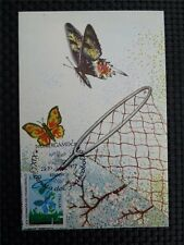 Italia Mk 1977 Butterfly mariposas maximum tarjeta Carte maximum card mc c1184