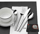 Stainless Steel Chopstick Style 24pc Cutlery Or 12pc Steak Knife Fork Set