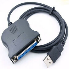 Cable Paralelo USB Paralelo 25 pines BD25 CL25 Centronics PC Impresora a1067
