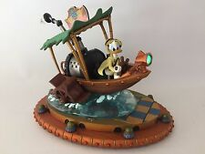 DISNEY Art DONALD DUCK Boat Steampunk FIGURINE Mechanical Kingdom JUNGLE CRUISE