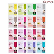 Dermal Korea Collagen Essence Facial Mask Sheet (16 Combo Pack) [USA SELLER]