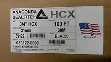Anaconda HCX-BLACK-3/4-100'  Sealtite Conduit TYPE HCX Hi-Temp (100' Carton)