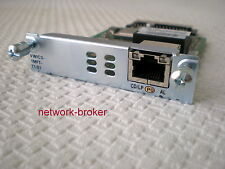 CISCO VWIC3-1MFT-T1/E1 1-Port 3rd Gen Multiflex Trunk Voice mit Funktionsprot.