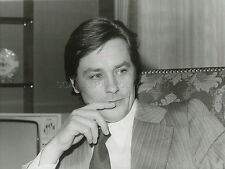 ALAIN DELON PORTRAIT 1975  VINTAGE PHOTO ORIGINAL #2