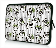 "Cute Panda 15 inch 15.4"" 15.5"" 15.6"" Laptop Soft Bag Sleeve Case Pouch Cover Hot"