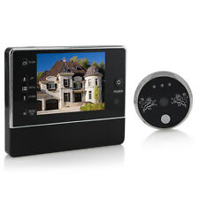 "New 3.5"" TFT Display 120°3X Zoom Home Doorbell Peephole Door Eye Video Door Bell"